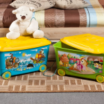 хранение детских игрушек