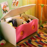 хранение детских игрушек фото видов