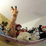хранение мягких детских игрушек