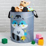 хранение детских игрушек интересные способы