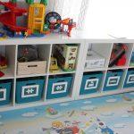 хранение детских игрушек оформление