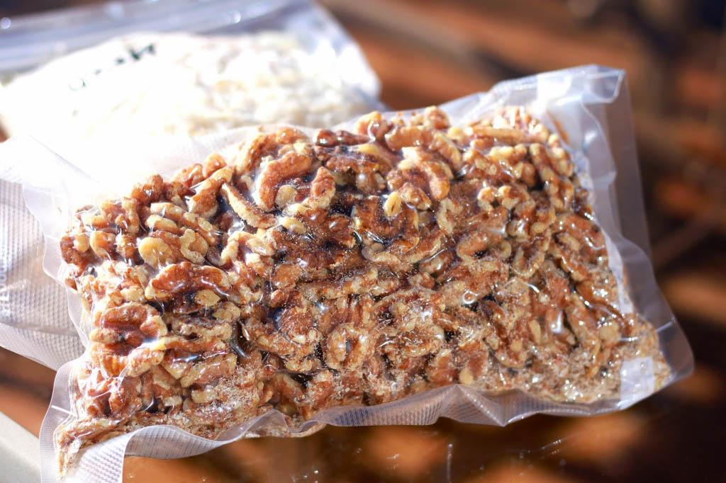 хранение грецких орехов в вакууме