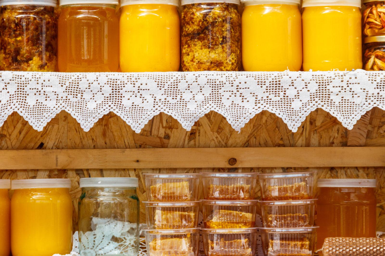 хранение меда на балконе