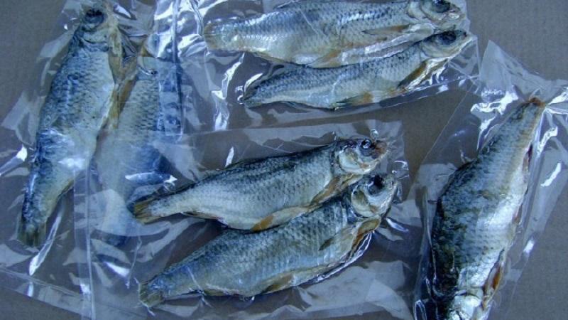 хранение вяленой рыбы дома