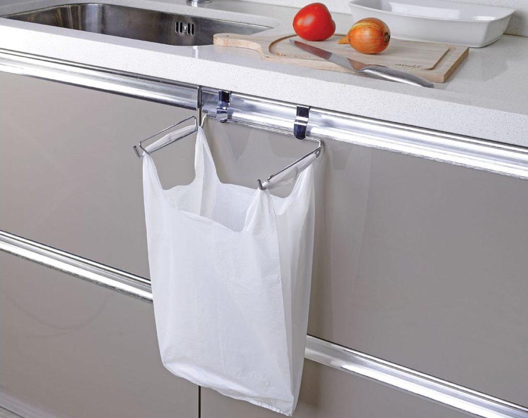 хранение пакетов на кухне