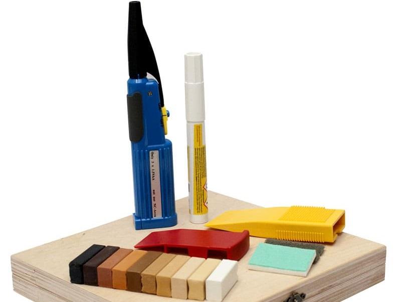 инструменты для ремонта сколов