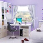нежная комната для девочки подростка