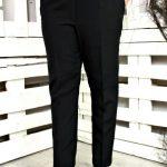 брюки со стрелкой черные