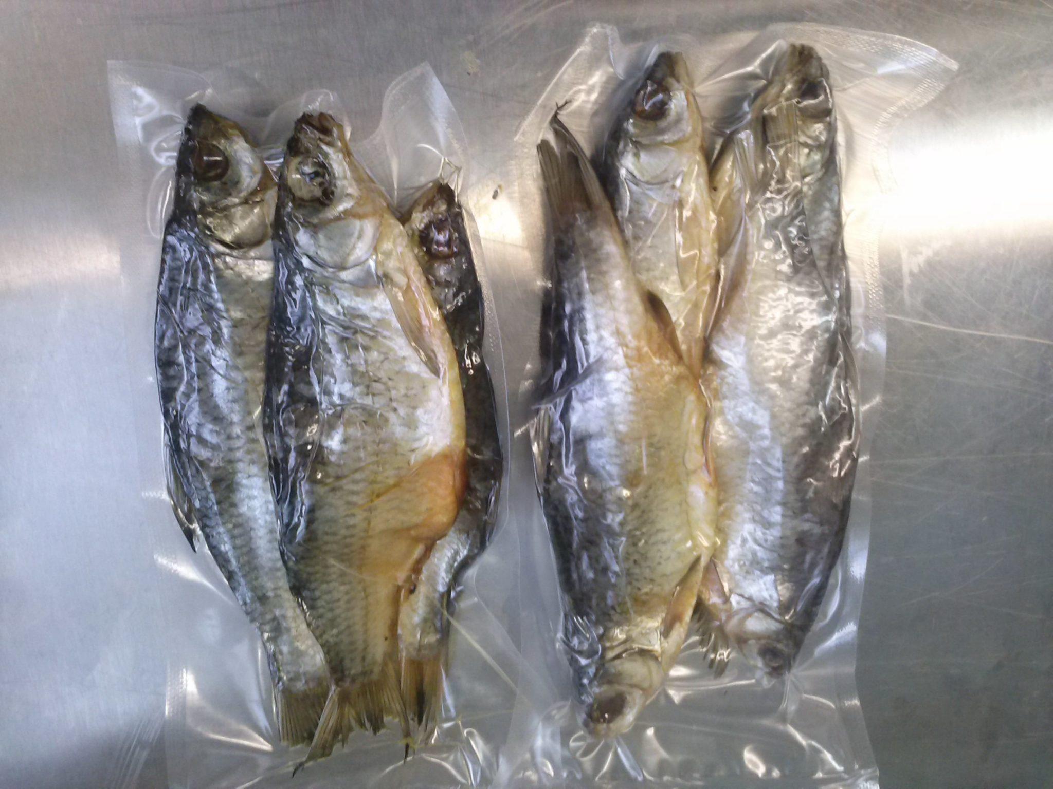 как хранить вяленую рыбу в вакуумной упаковке