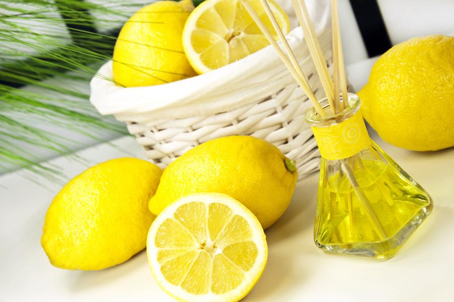 дольки лимона как ароматизатор