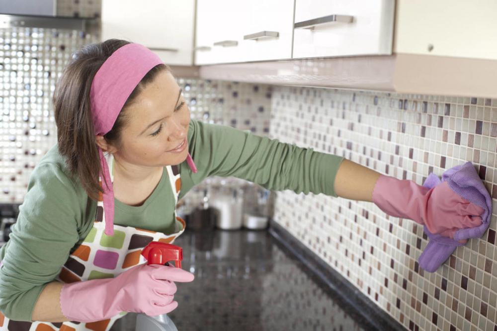 мыть кухонный фартук