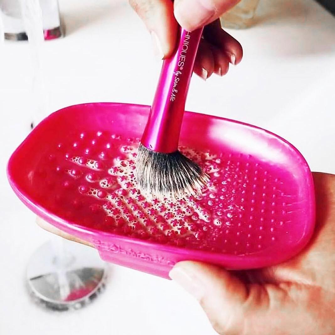 правильное мытье кистей