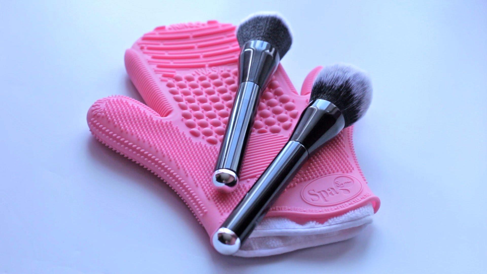 рукавичка для чистки кистей
