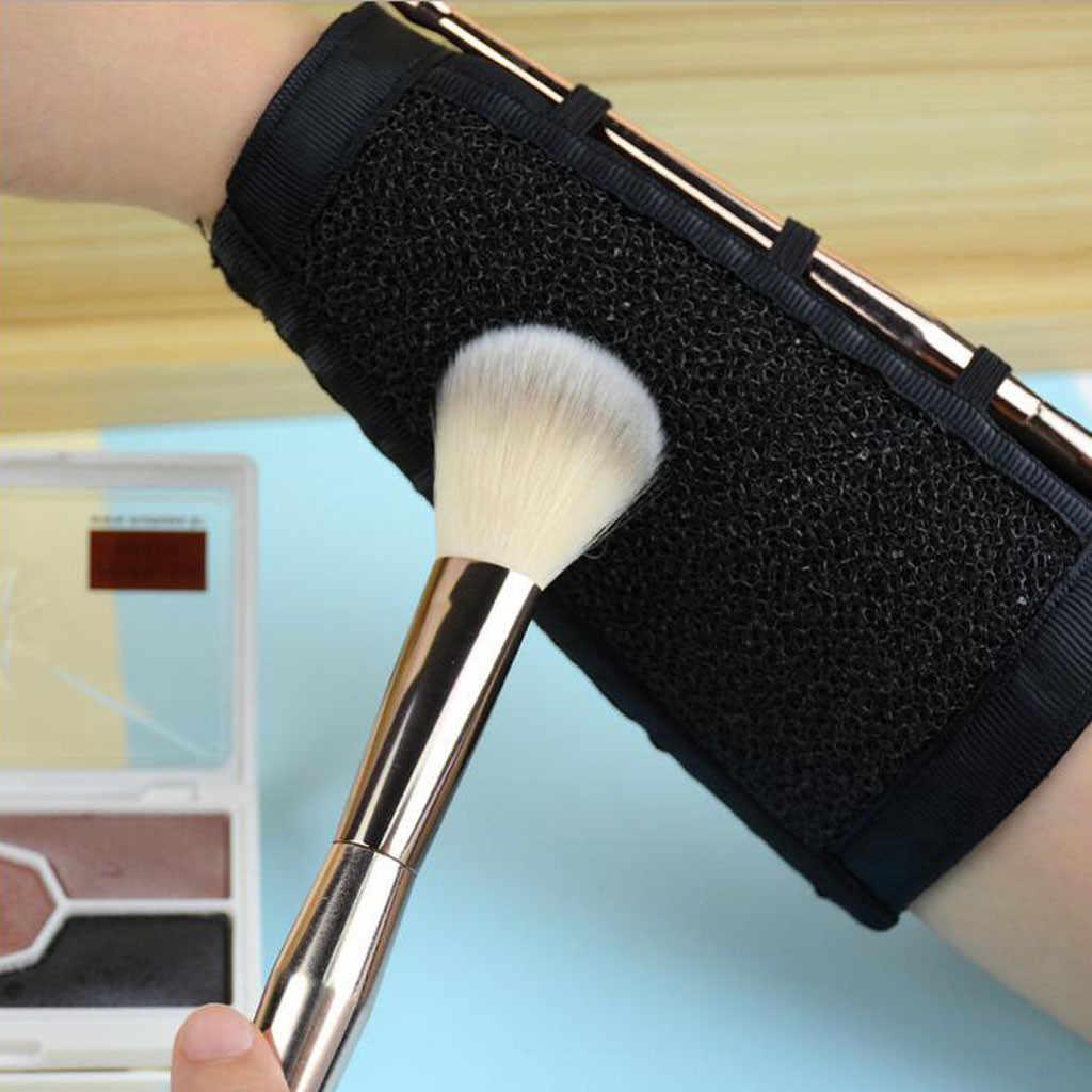 загрязнение кистей для макияжа