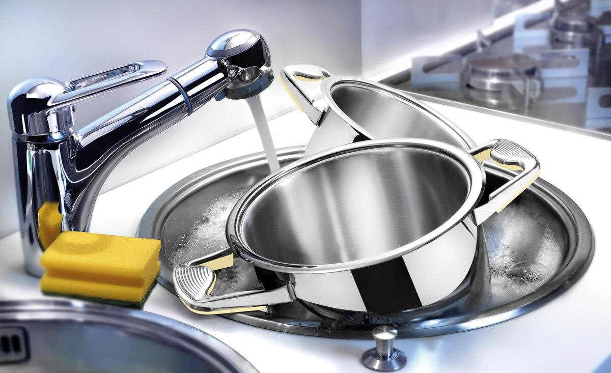 мягкие губки для чистки посуды