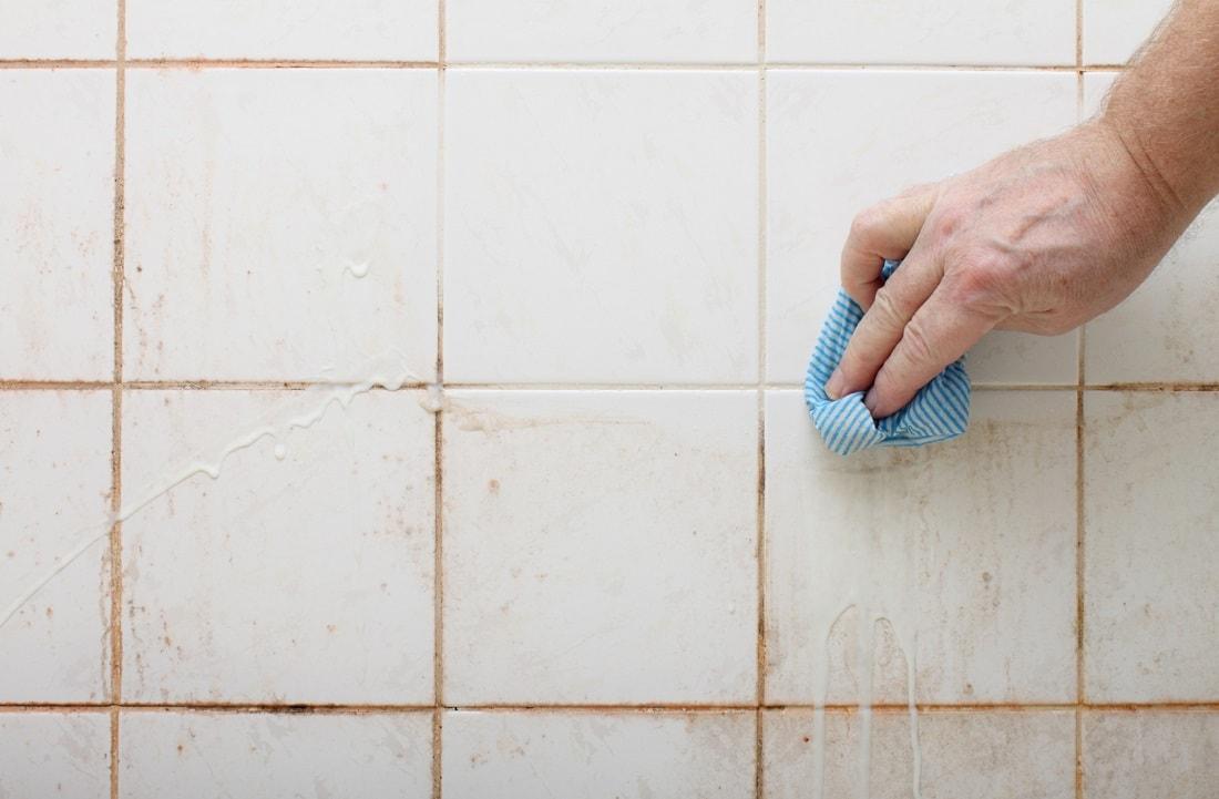 способы уборки плитки