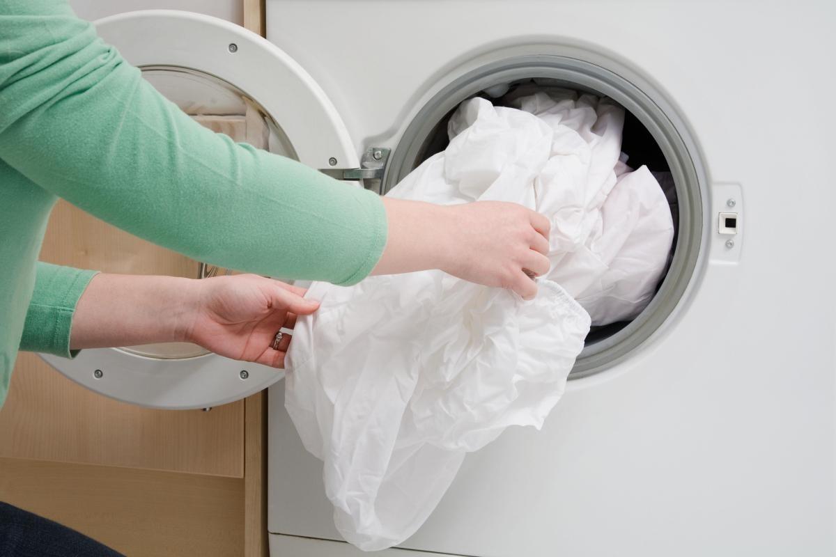 Сортируйте белье