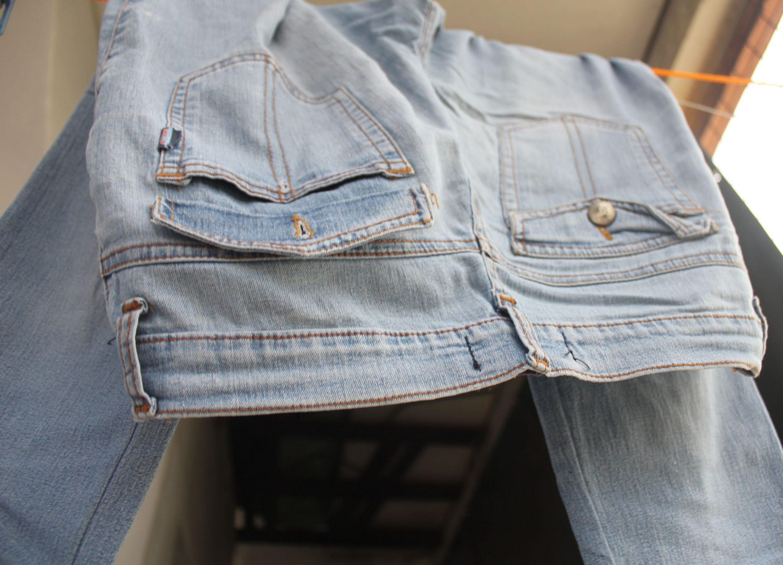 правила выбеливания джинсовой ткани