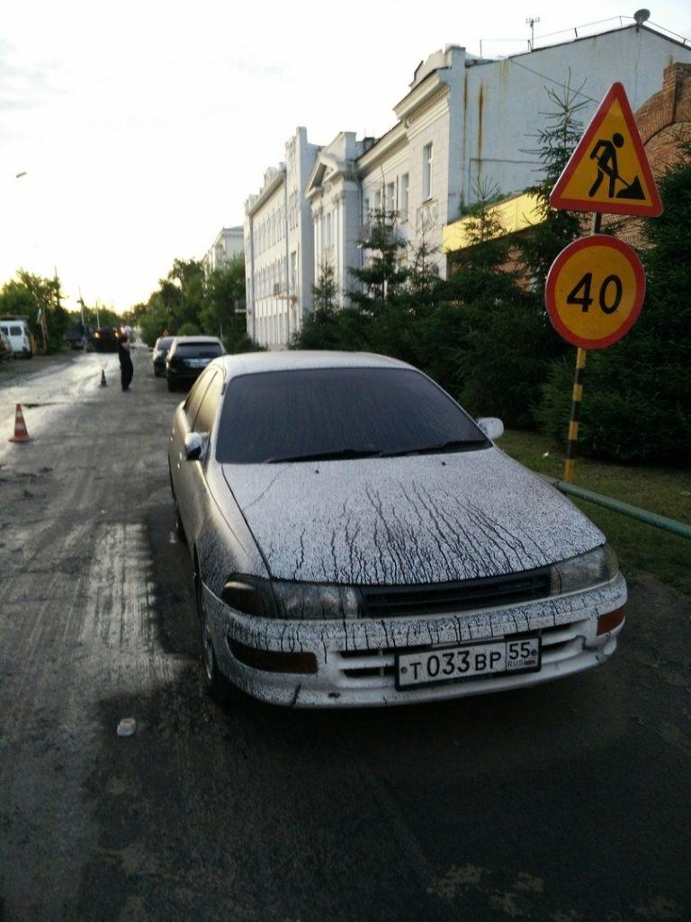 как отмыть битум с автомобиля в домашних условиях