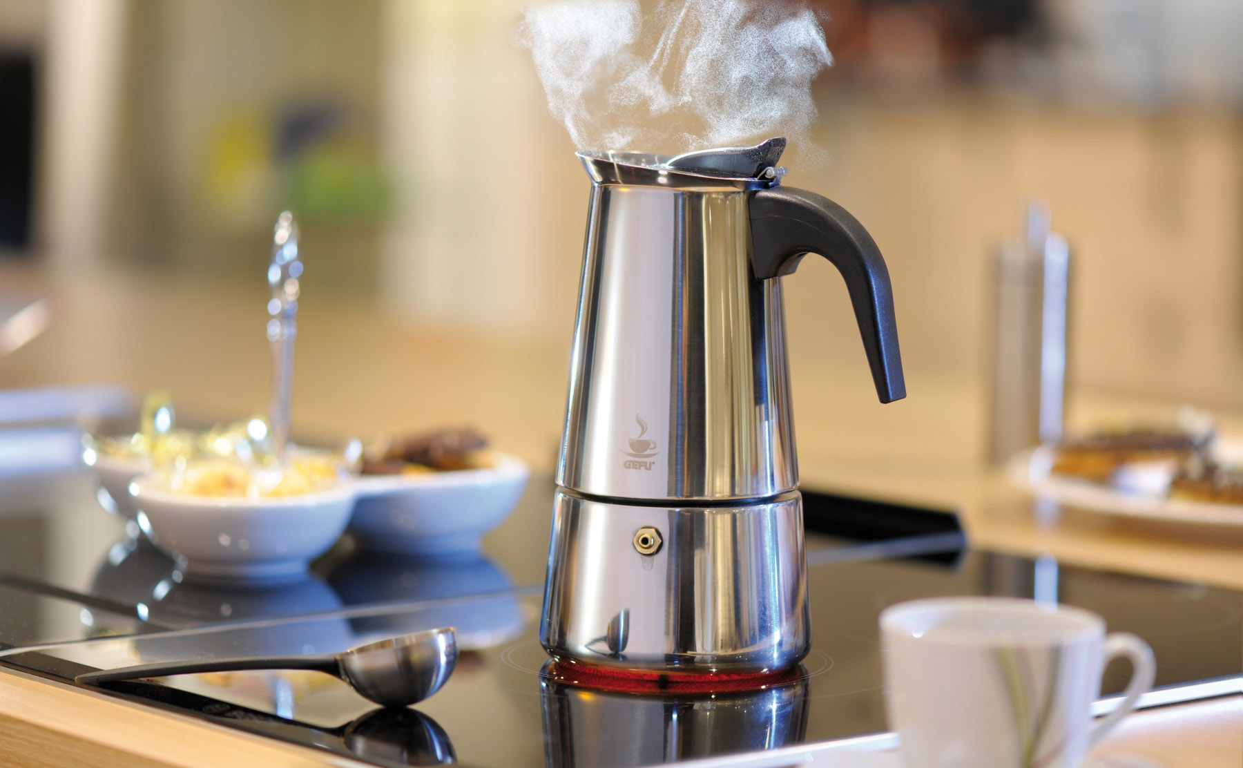уход за кофеваркой