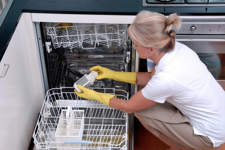 правильных уход за посудомойкой
