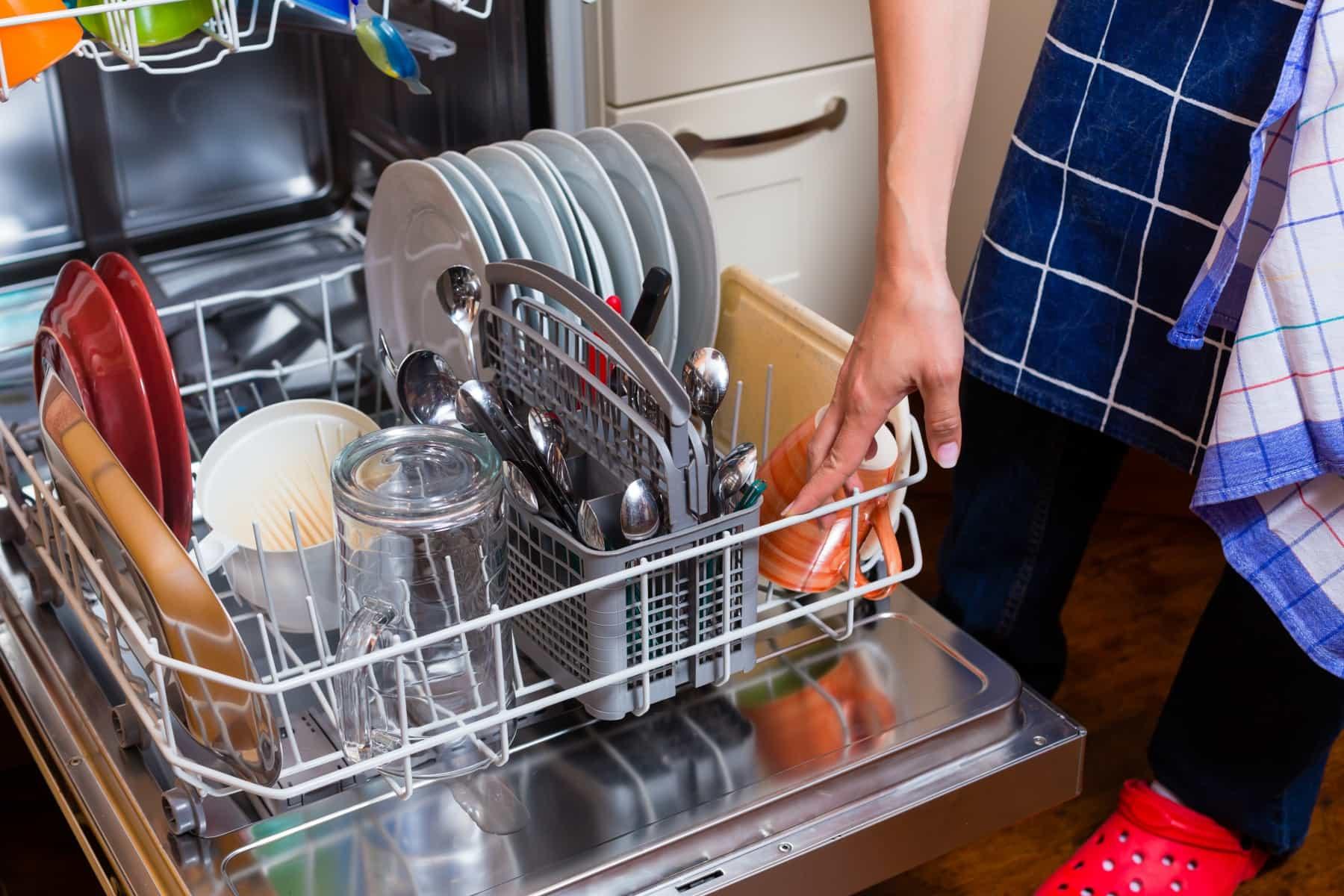 быстрая мойка в посудомойке