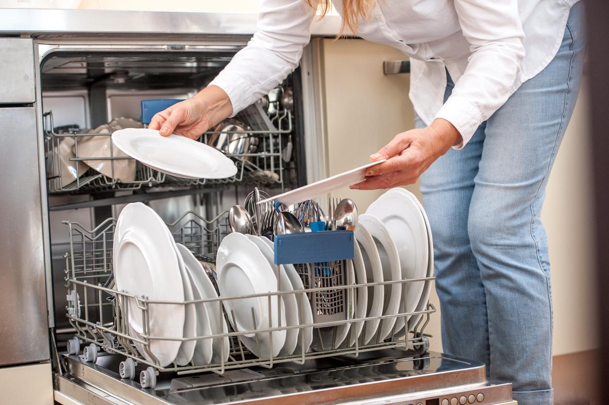 нормальный режим в посудомойке