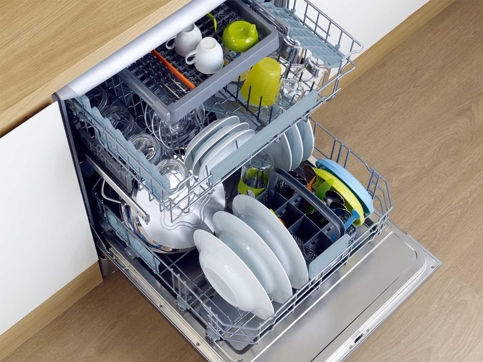 хрупкие предметы в посудомойке