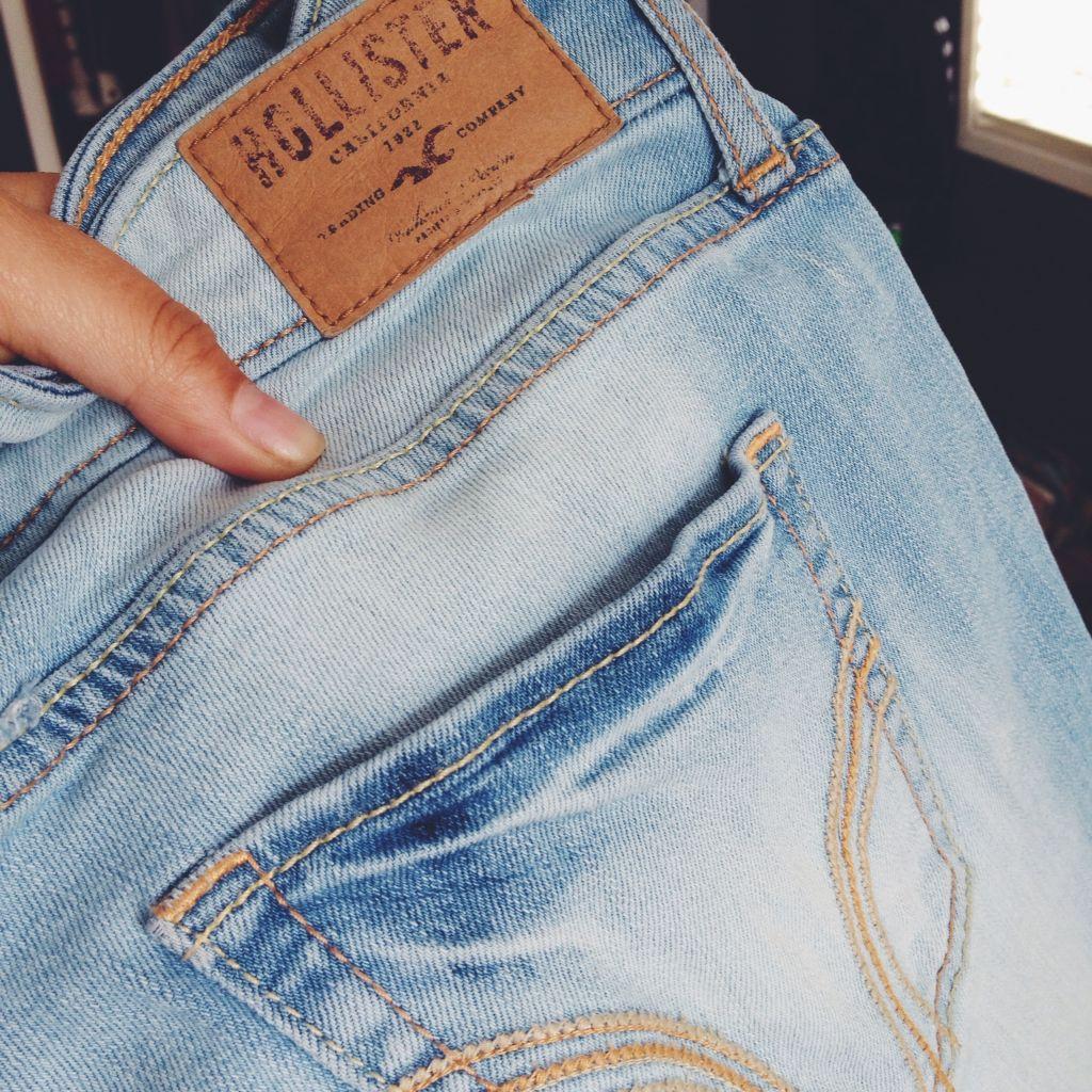 неправильный уход за джинсой