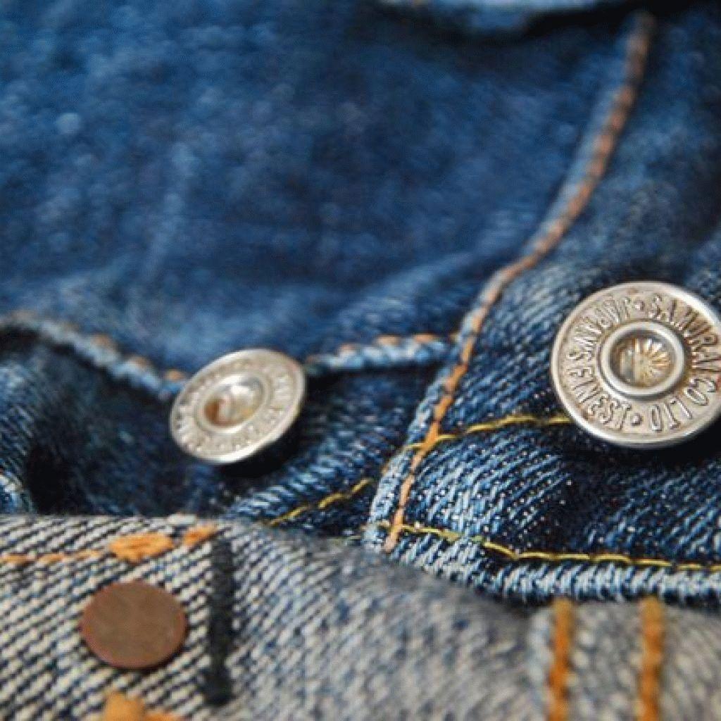 локальная чистка джинсов