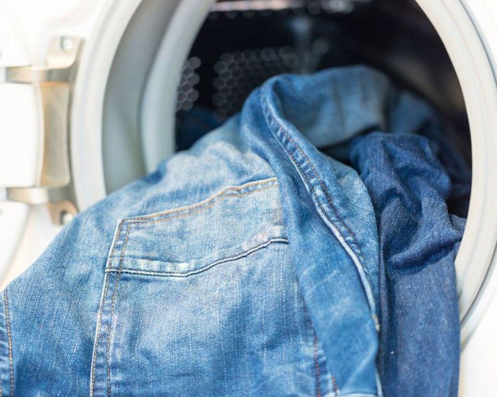 стирка джинсов в машине