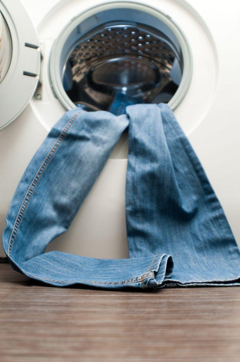 способы усадки джинсов