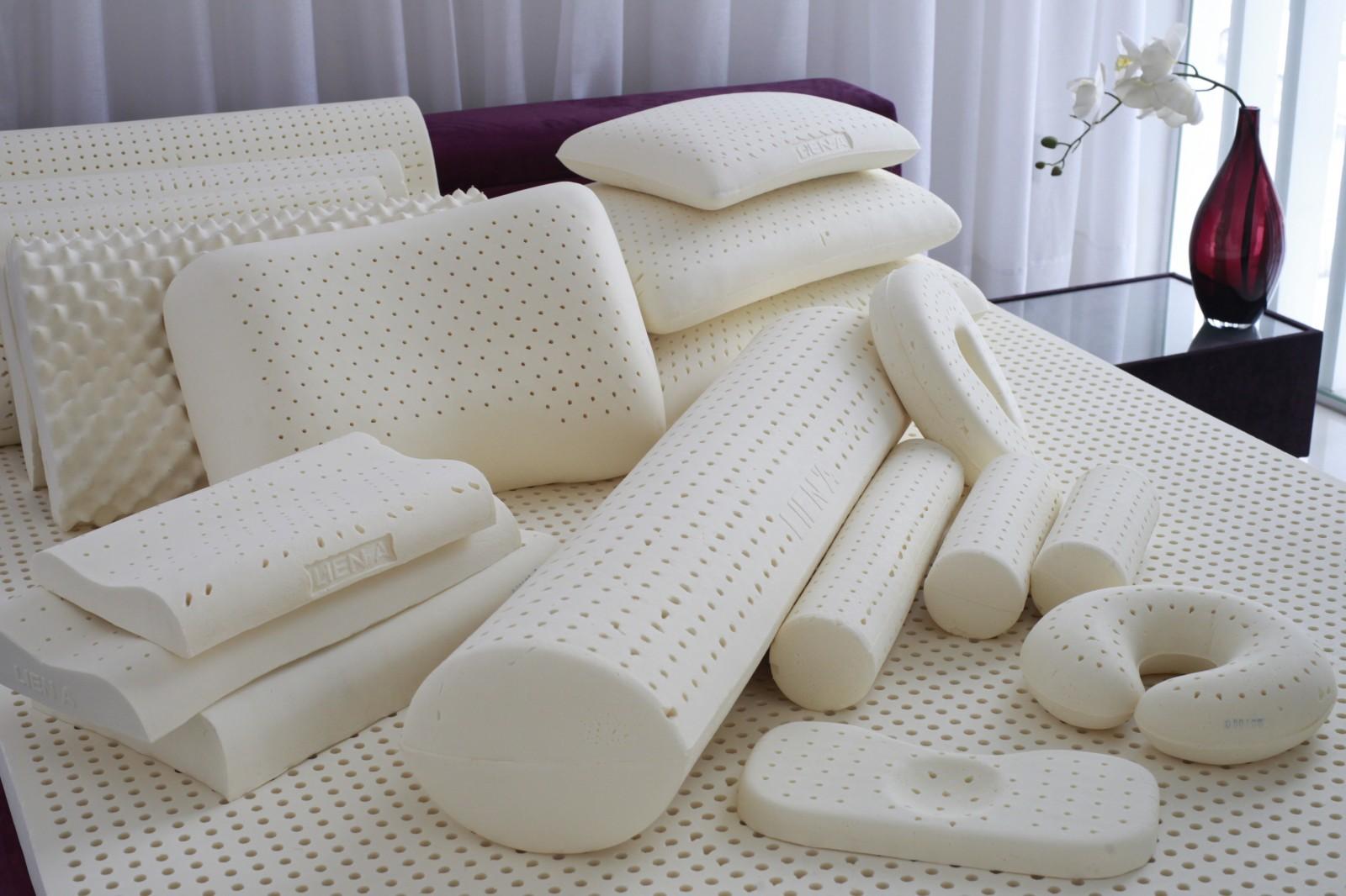 подушки из натурального латекса