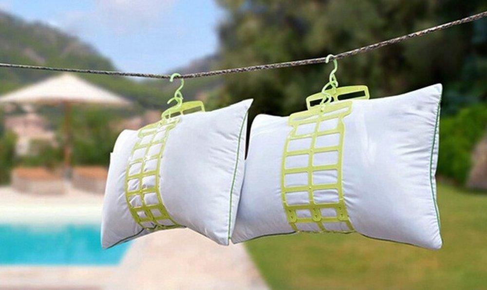 как правильно сушить подушки