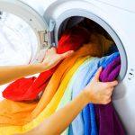 вещи в стиральной машине