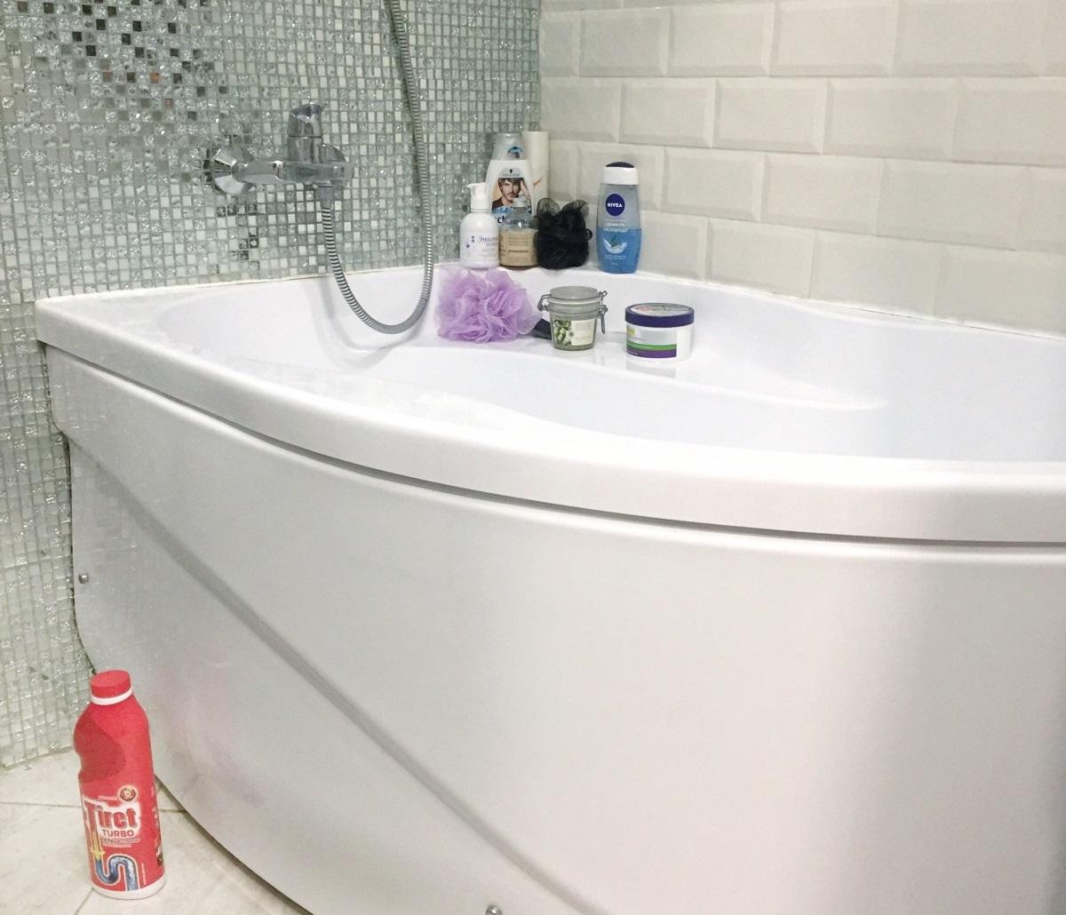 Тирет Турбо для чистки труб в ванной