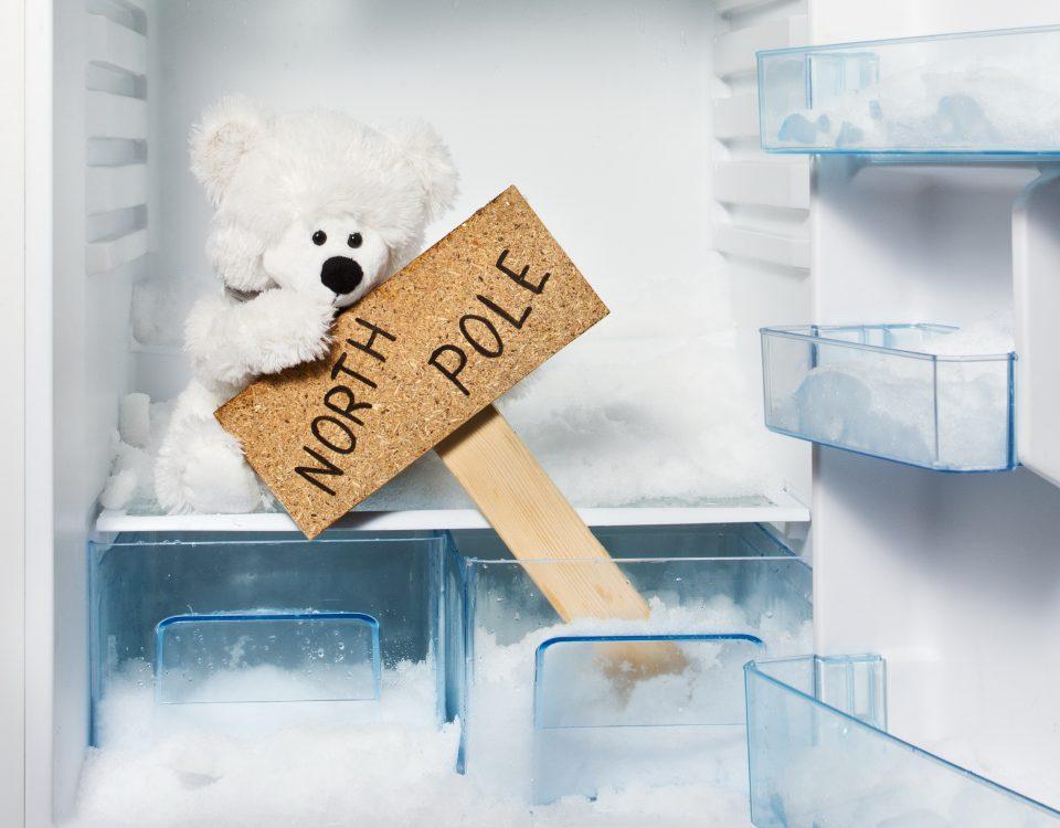 как размораживать холодильник
