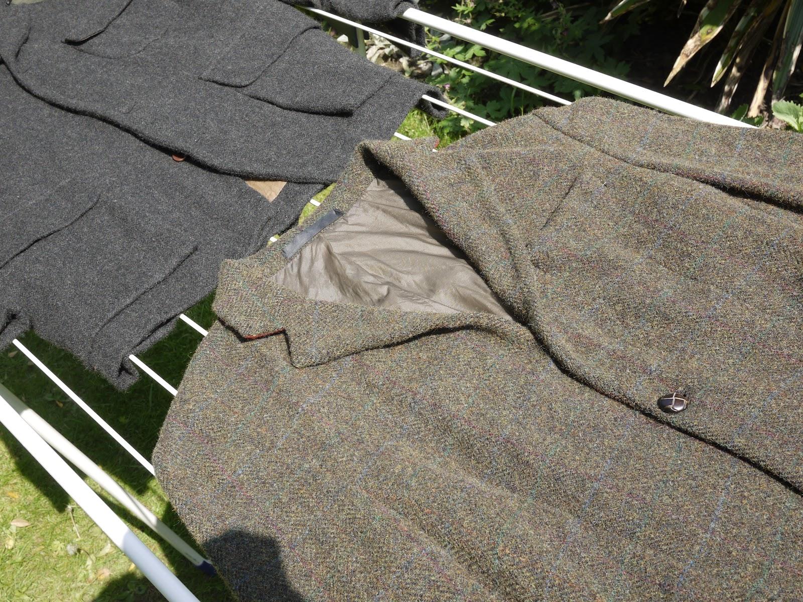 высушивание пиджака