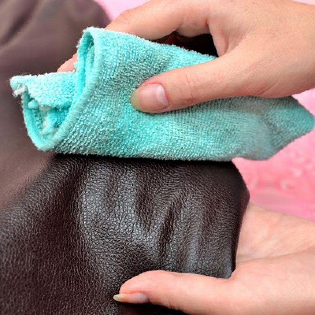 чистка кожаного пиджака