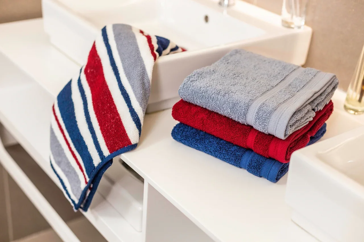 полотенца стали жесткими
