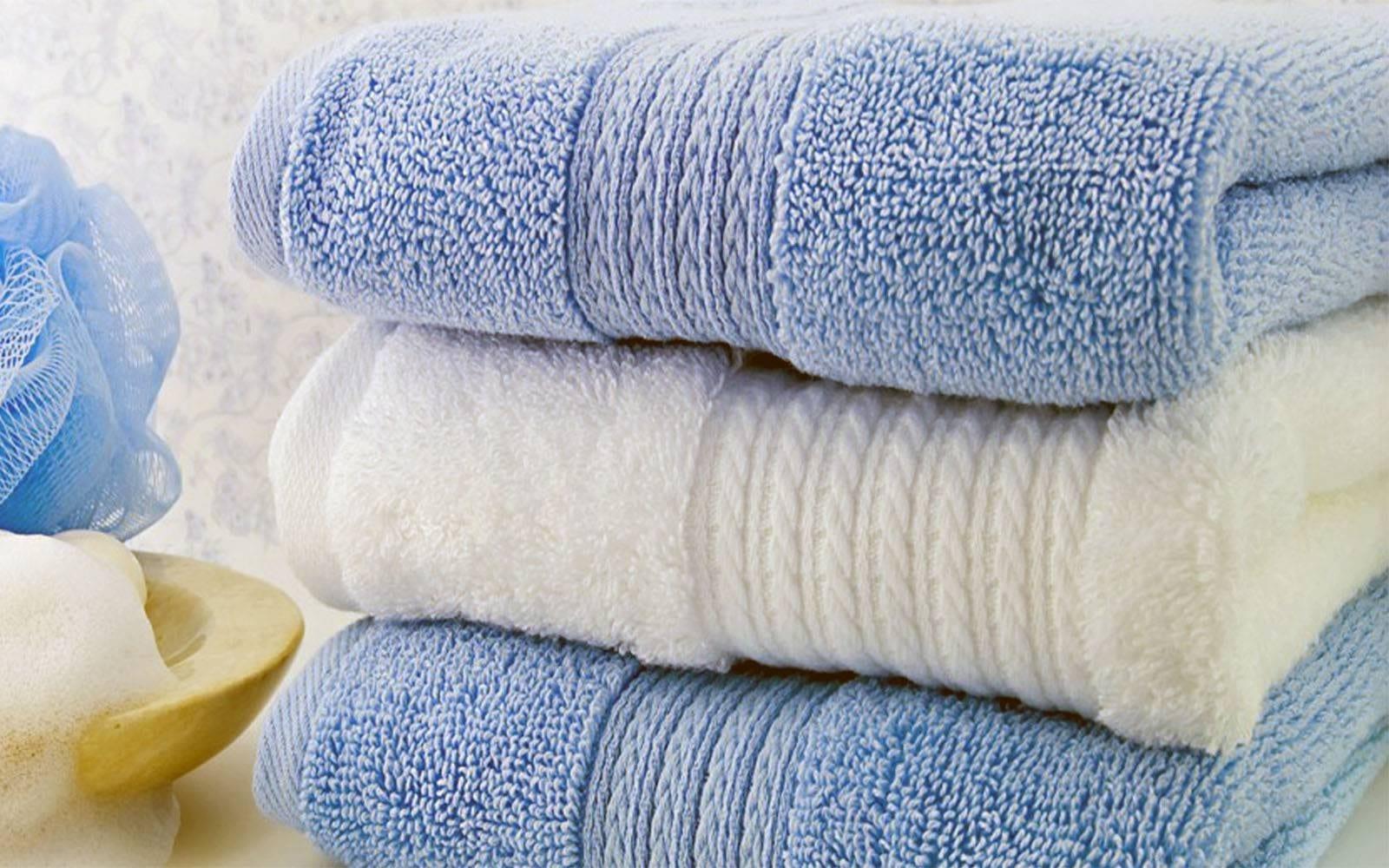 жесткие полотенца