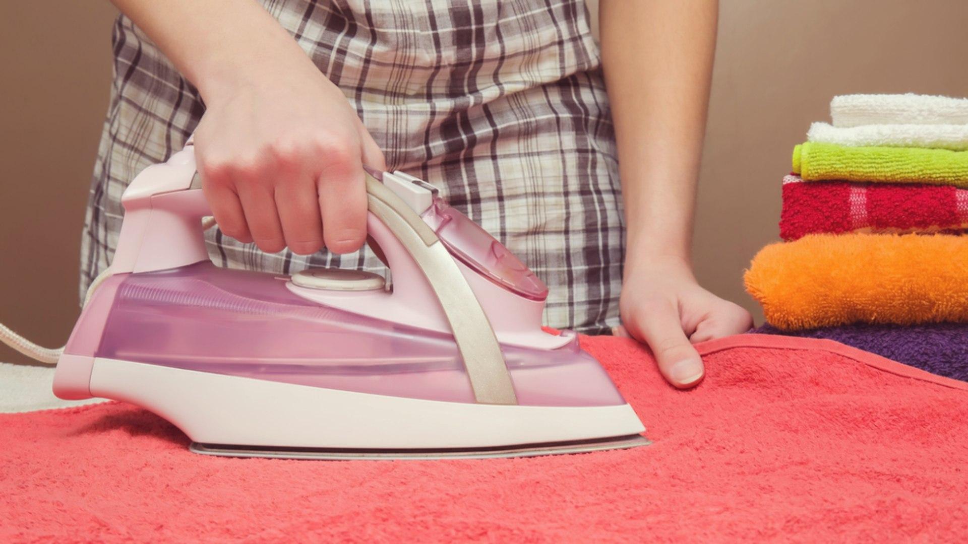 глажка полотенца