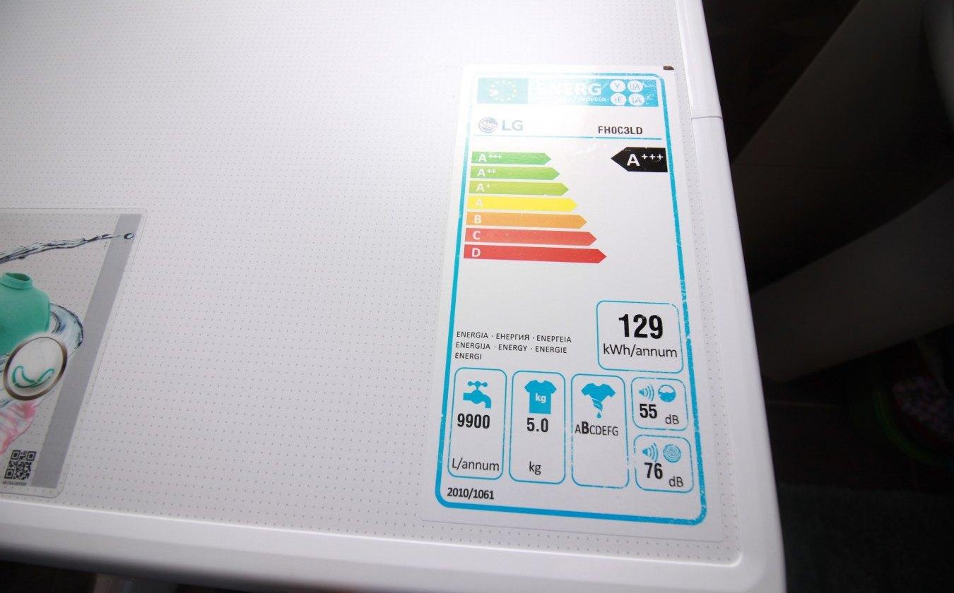 как узнать мощность стиральной машины
