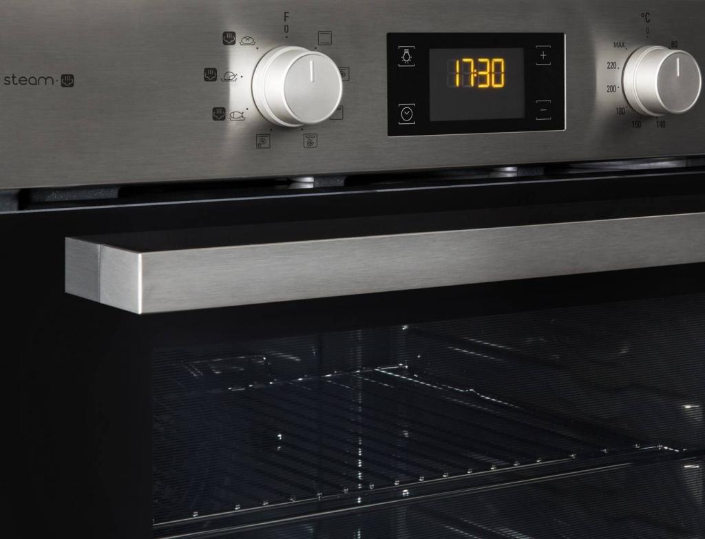 выставление температуры в духовке