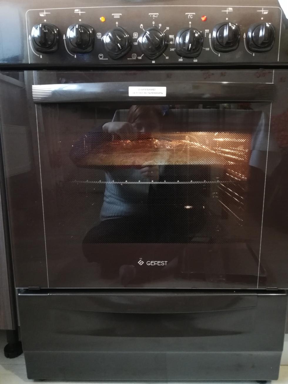 электроподжог духовки