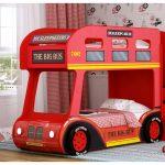 кровать-автобус для детей