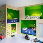 оригинальный дизайн двухэтажной кровати