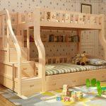 оригинальный дизайн кровати для двух деток