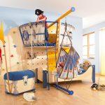 двухъярусная кровать - пиратский корабль