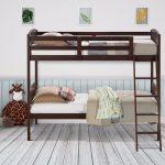 железная кровать с лестницей